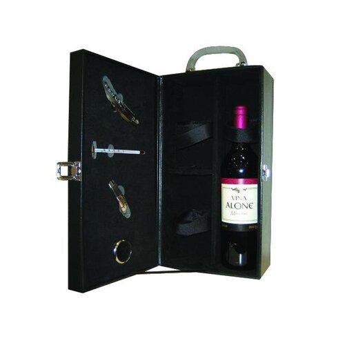 Creative Motion Leather 2 Bottle Wine Case