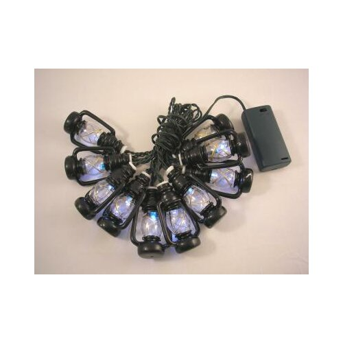 Creative Motion 10 Light LED Lantern Rope Light
