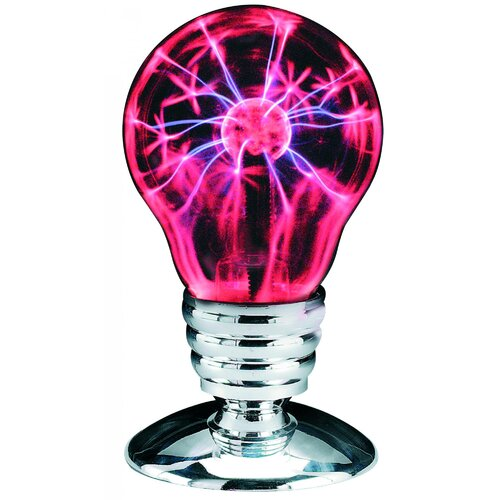 Plasma Pink and Black Light Bulb