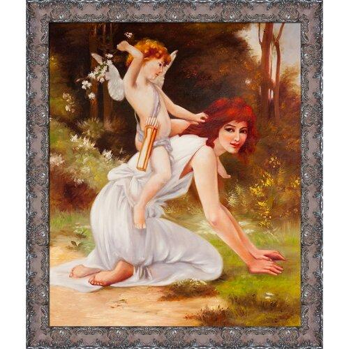 Cupids Folly Seignac Framed Original Painting