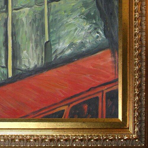 Tori Home Landscape, Southern Modigliani France Framed Original Painting