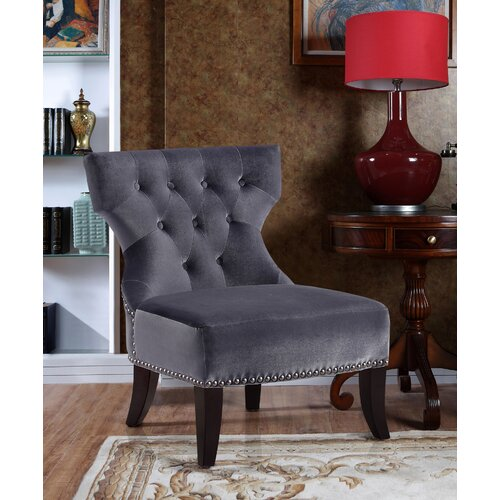 Simpli Home Kitchener Accent Slipper Chair