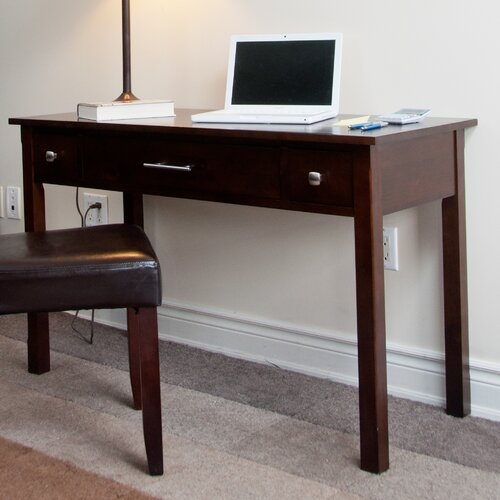 Simpli Home Avalon Computer Desk with Keyboard Tray