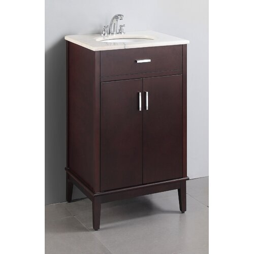 "Simpli Home Urban Loft 20"" Single Bathroom Vanity Set"