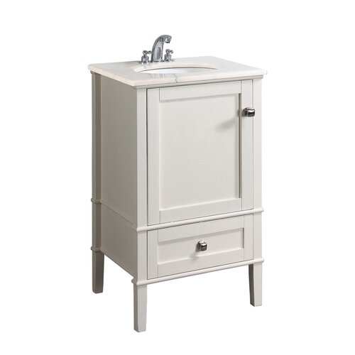 "Simpli Home Chelsea 21"" Single Bathroom Vanity Set"