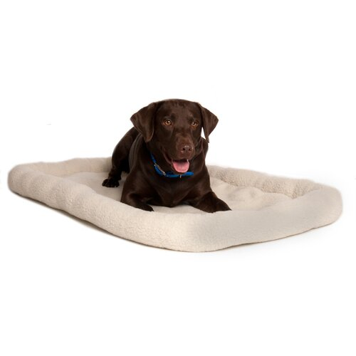 Snuzzle Bolster Dog Bed