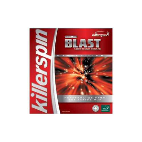 Killerspin Blast Table Tennis Rubber in Black