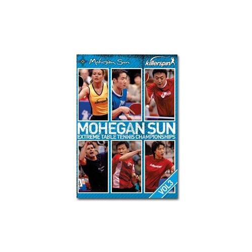 Killerspin Table Tennis Mohegan Sun Championships DVD Vol.3