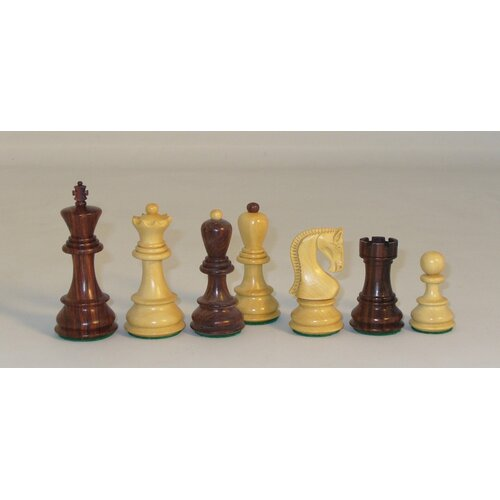 Checkmate Rosewood Old Russian Chessmen