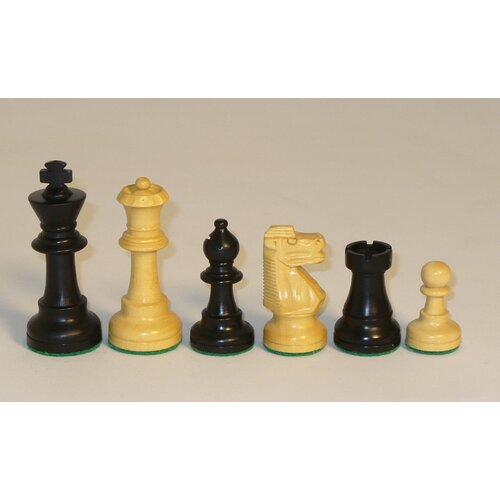 Chopra Small Black French Chessmen