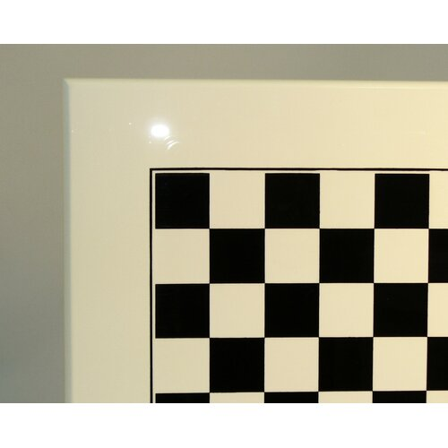 Wood Chess Board in White / Black