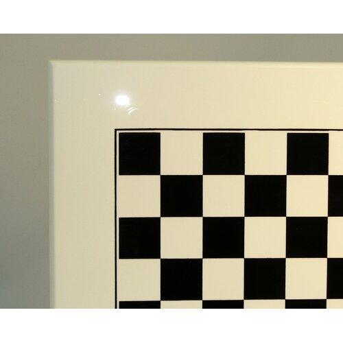 Ital Fama Wood Chess Board in White / Black