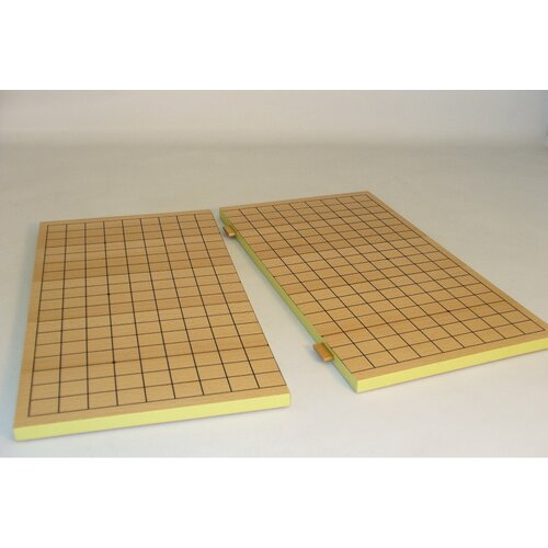 Play All Day Games Slotted Wood Go Chess Board