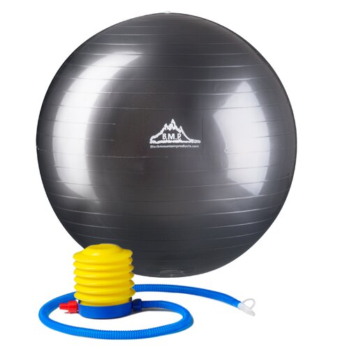 Black Mountain Products Anti-Burst Exercise Stability Ball