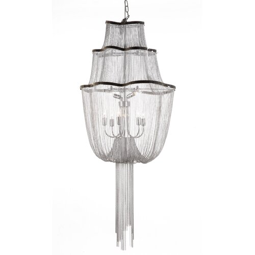 The Flow 7 Light Mini Chandelier