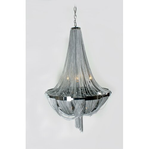 The Scarlett 8 Light Mini Chandelier