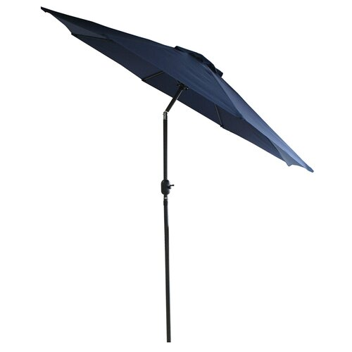 LB International 9' Crank Market Umbrella