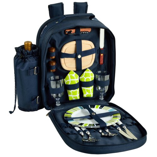 Trellis Picnic Backpack for Two