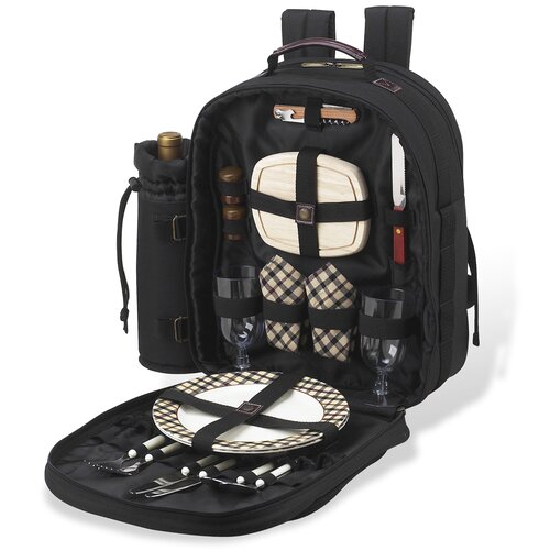 Picnic At Ascot London Picnic Backpack Cooler for Two