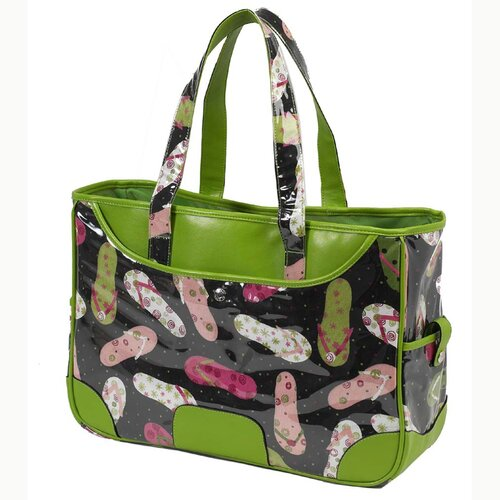 Picnic At Ascot Beach Day Large Beach Tote Cooler