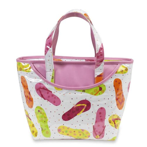 Beach Day Small Insulated Tote Cooler