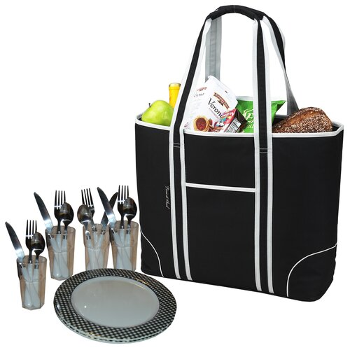 Picnic At Ascot Insulated Picnic Tote for Four