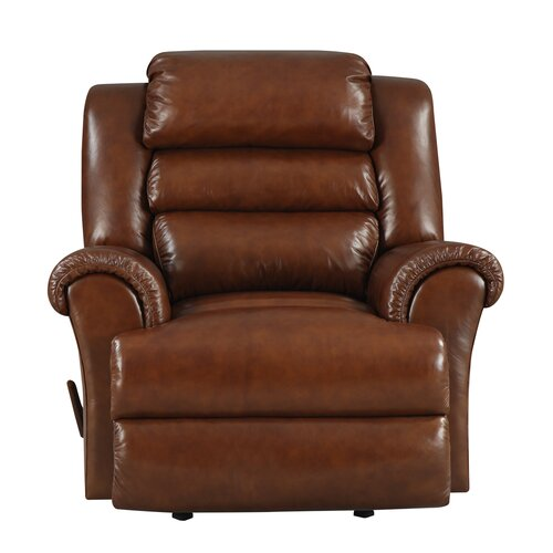 At Home Designs Sedona Leather Chaise Recliner