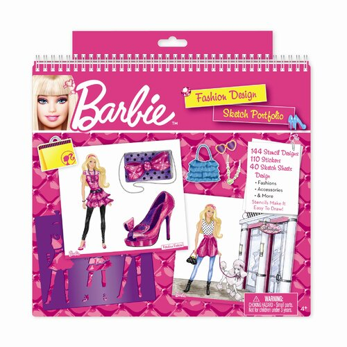 Barbie Fashion Design Sketch Portfolio