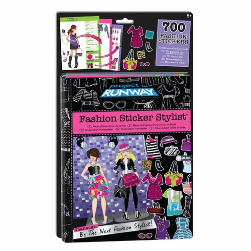 Fashion Angels Project Runway Fashion Sticker Stylist
