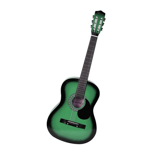 Stedman Pro Acoustic Classical Guitar with Gig Bag and Accessories in Green