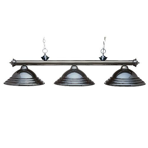 Z-Lite Riviera 3 Light Billiard Pendant