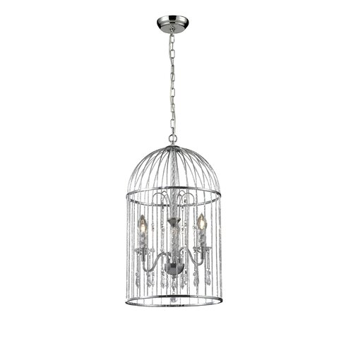 Avary 3 Light Crystal Chandelier