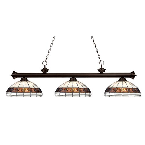 Grande 3 Light Billiard Light