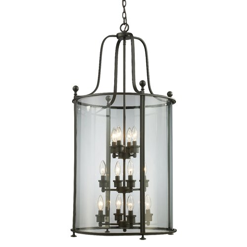 Z-Lite Wyndham 12 Light Foyer Pendant
