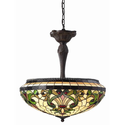 Z-Lite Templeton 3 Light Inverted Pendant