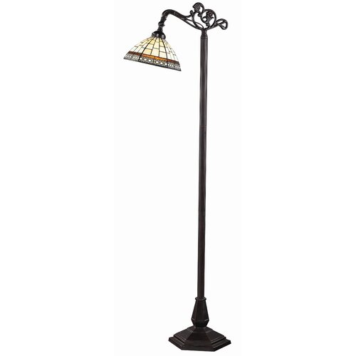 Z-Lite Prairie Garden 1 Light Bridge Floor Lamp