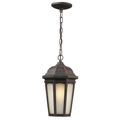 Z-Lite Newport 1 Light Outdoor Chain Light