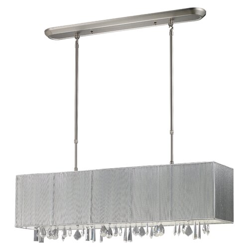 Z-Lite Casia 4 Light Pendant