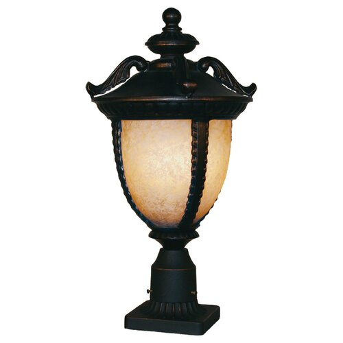 "Z-Lite Winchester 3 Light 22"" Outdoor Post Lantern"