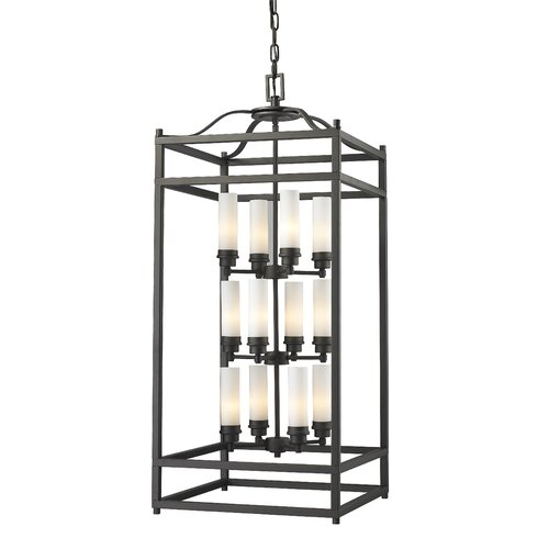Z-Lite Altadore 12 Light Metal Foyer Pendant