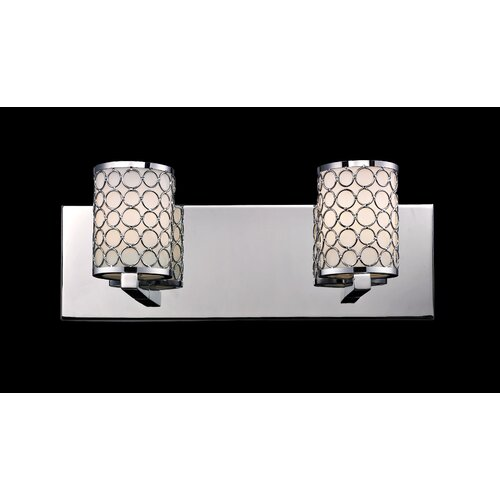 Z-Lite Synergy 2 Light Bathroom Vanity Light