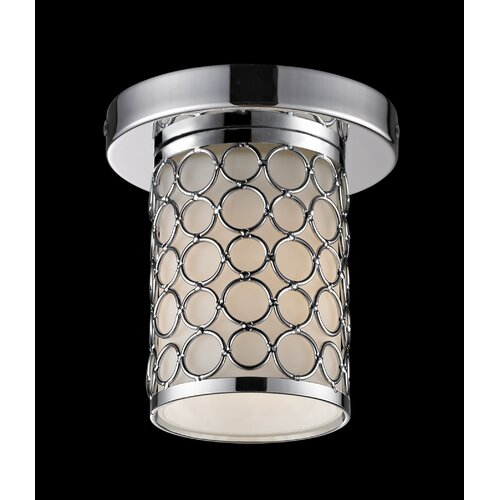 Z-Lite Synergy 1 Light Flush Mount