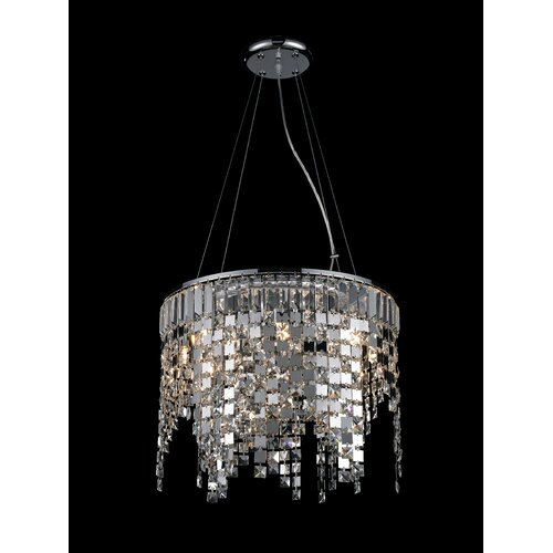 Nyssa 8 Light Crystal Chandelier