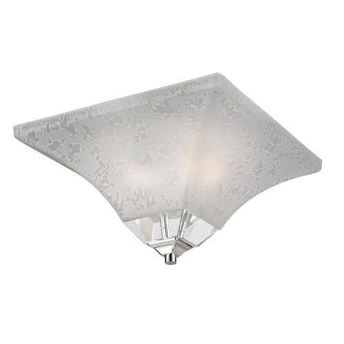 Z-Lite Pershing 2 Light Flush Mount