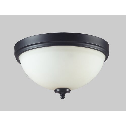 Z-Lite Harmony 2 Light Flush Mount Light