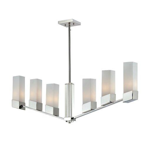 Rectangular canopy fixture wayfair for Zen lighting fixtures