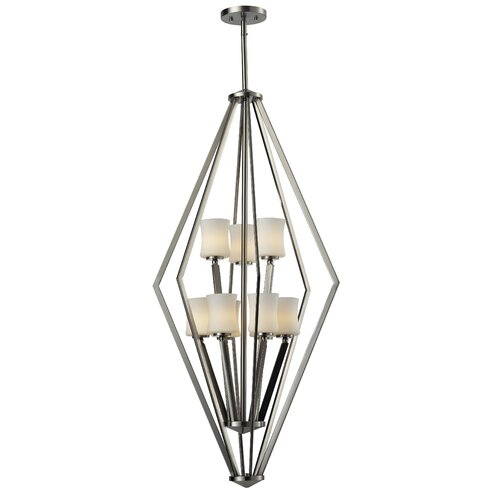 Z-Lite Elite 9 Light Foyer Pendant