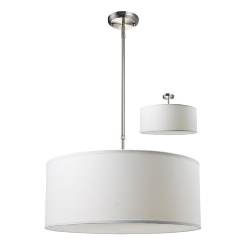 Z-Lite Albion 3 Light Drum Foyer Pendant