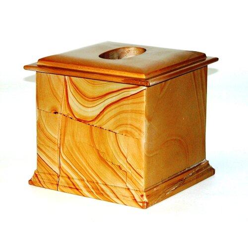 Series 300 in Teakwood Marble Tissue Holder