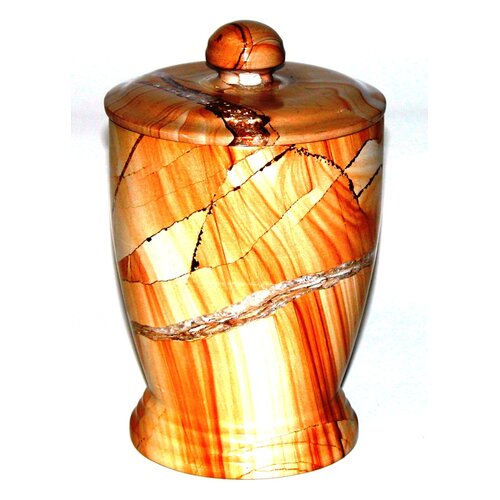 Nature Home Decor Series 300 in Teakwood Marble Canister